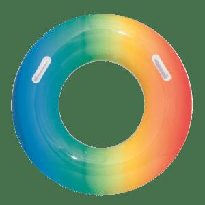 Zwemband Rainbow 80 cm - Blauw-rood