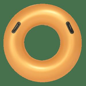 gouden zwemband met handvatten | summertoys.nl