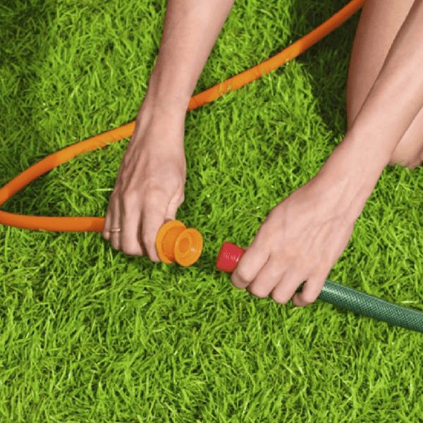 tuinslang aansluiten waterpark h2ogo | summertoys.nl