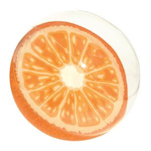 Opblaas Strandbal 'Fruity' 46 cm - Oranje