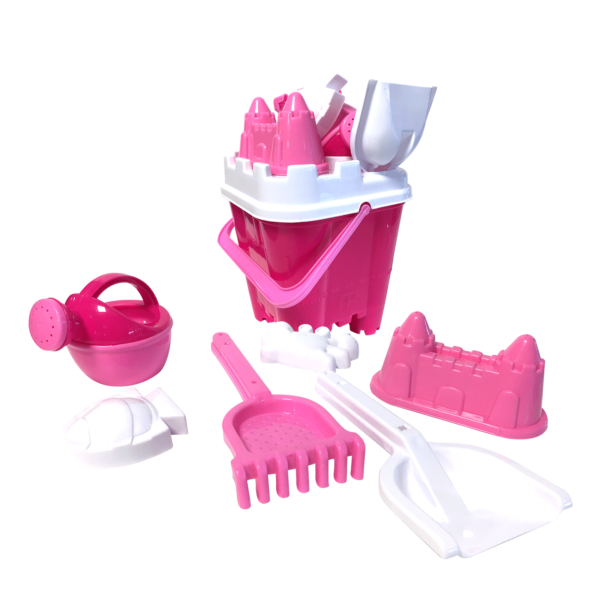 Emmerset kasteel roze | Summertoys.nl