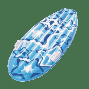 Opblaas mini surfboard 114cm - Blauw