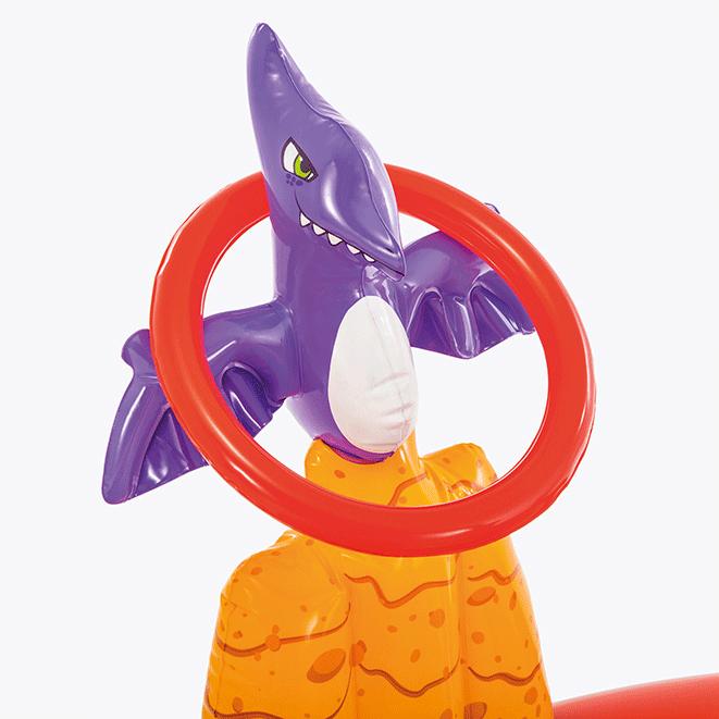 Opblaas speelcenter Happy Dino