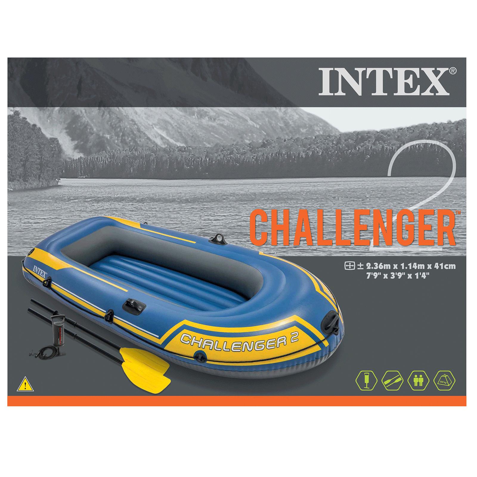 Opblaasboot Challenger 2 set