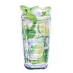 Opblaas luchtbed sparkling Mojito