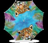 Parasol luipaard 180cm
