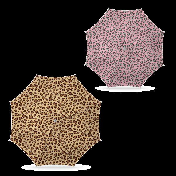 Parasol Luipaard print