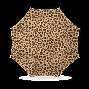 Parasol Luipaard print 180cm - Bruin