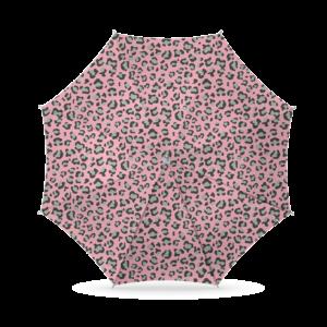 Parasol Luipaard print 180cm - Roze