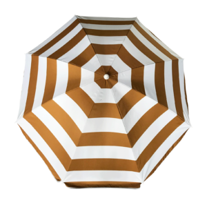 Parasol Glamour beach 180 cm Polyester - Goud