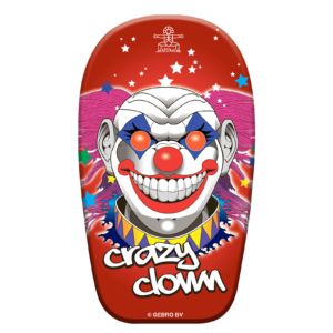 Bodyboard Crazy Clown