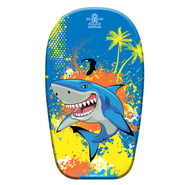 Bodyboard Angry Shark