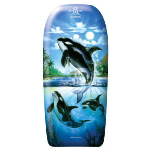 Bodyboard Fish 82 cm - 3 orka's