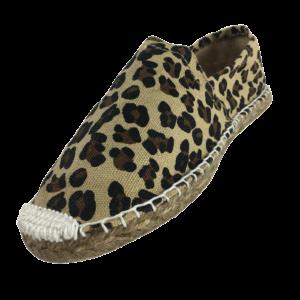 Espadrilles leopard print