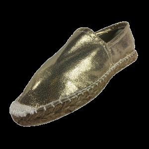 Espadrilles Gold glitter