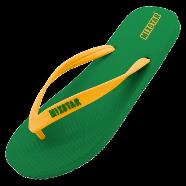 mixtar slipper brasil green men | summertoys.nl