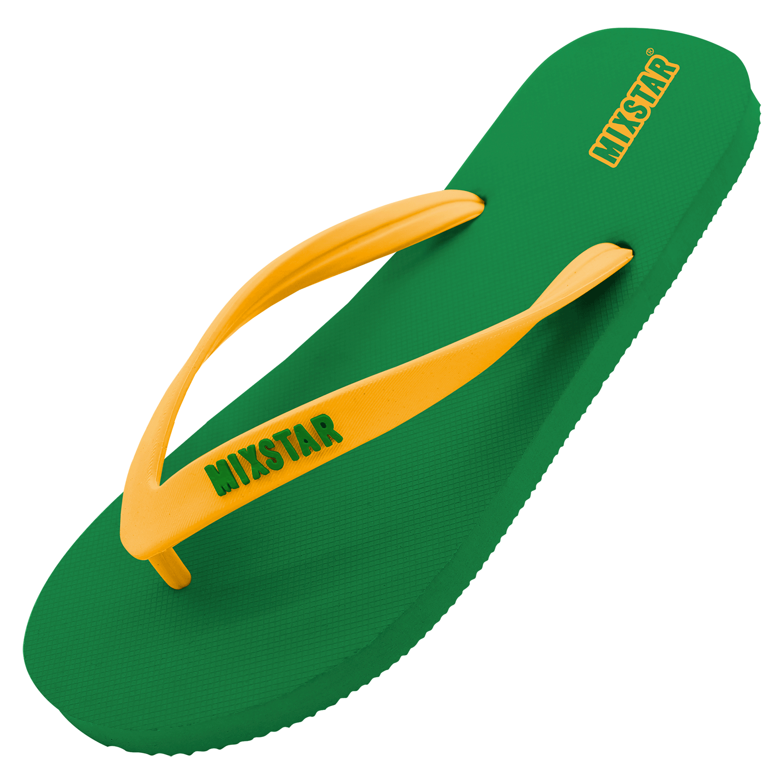mixtar slipper brasil green men | summertoys.nl