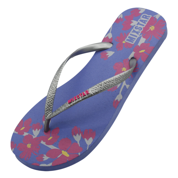 slipper flower paars
