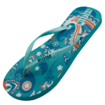 Slipper design blauw