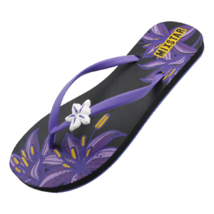 slipper purple flower