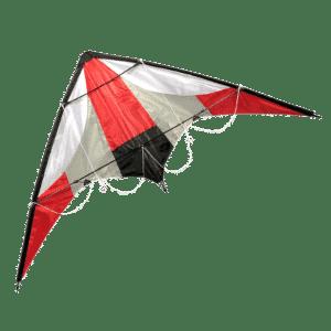 Stuntvlieger Boomerang 120 cm - Rood