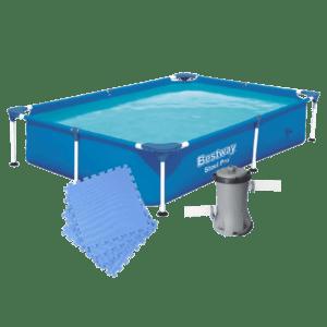 1. Framebad + Ondervloer + filterpomp