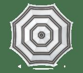 Parasol gestreept | parasol 180cm | summertoys
