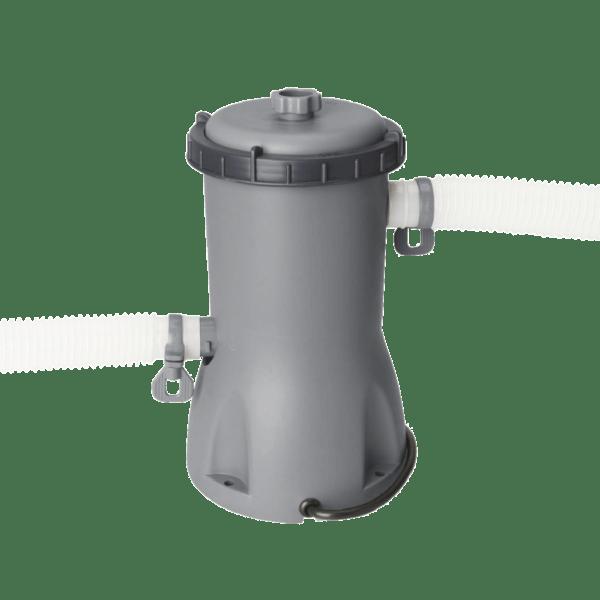 Power Steel met filterpomp 427 x 122 cm