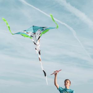 Vliegeren in Nederland met de vliegers van Summertoys