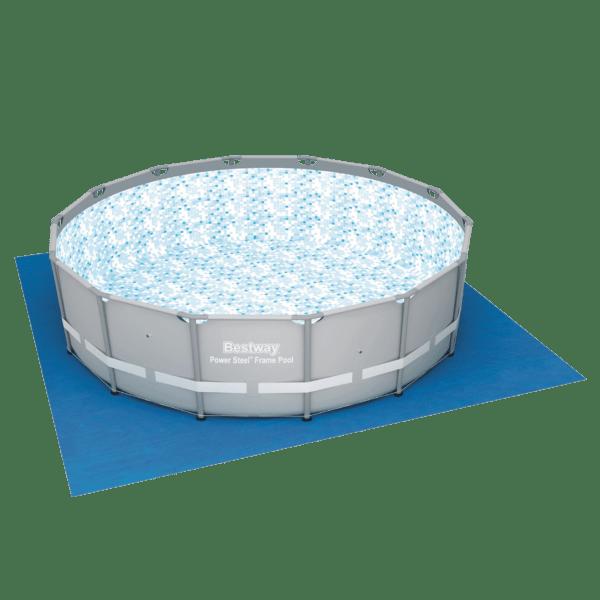 Zwembad grondzeil 457cm