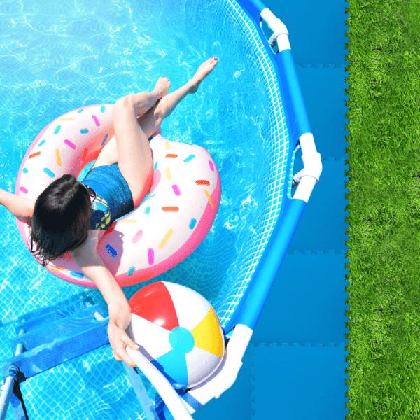 zwembad ondervloer tegels 4 mm