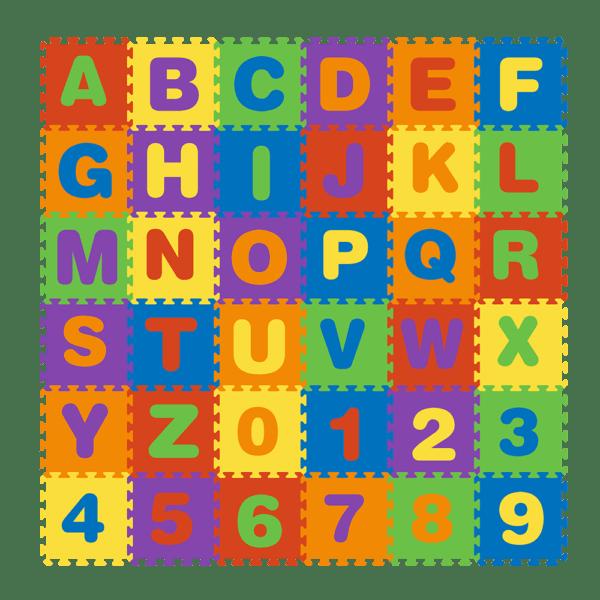 Puzzelmat alfabet 36 stuks