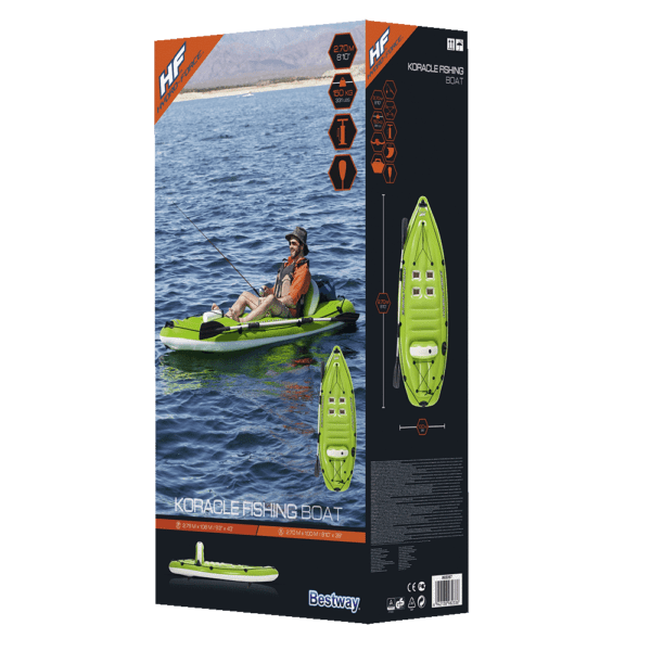 Hydro Force koracle fishing