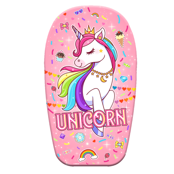 Bodyboard unicorn