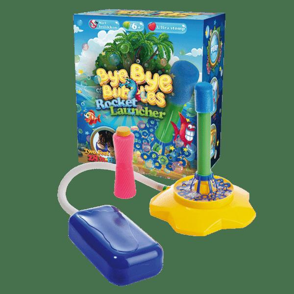 Bellenblaas bubble rocket