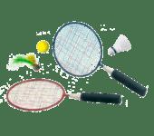 Badmintonset klein