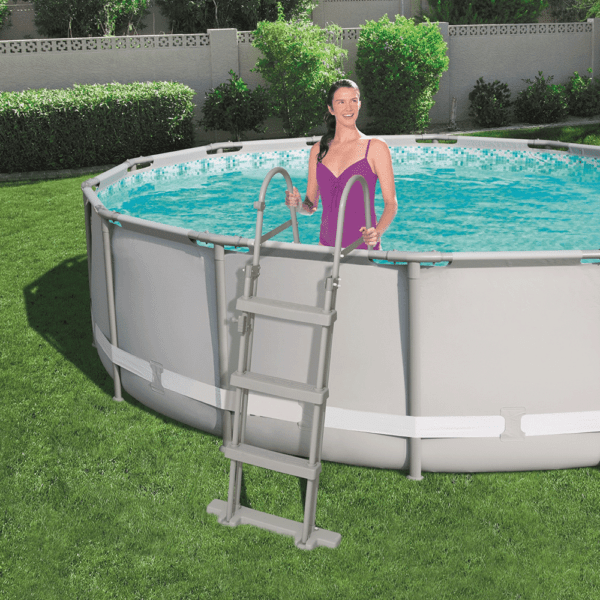 Zwembadladder 107 cm