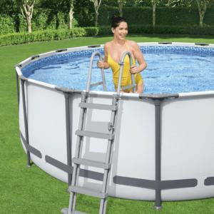 Zwembadladder 122 cm