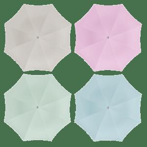 Parasol pastel 180 cm