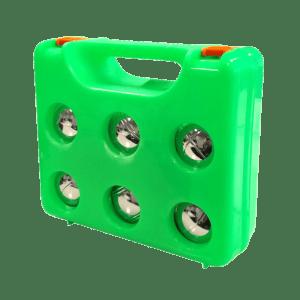 Metalen jeu des boules set