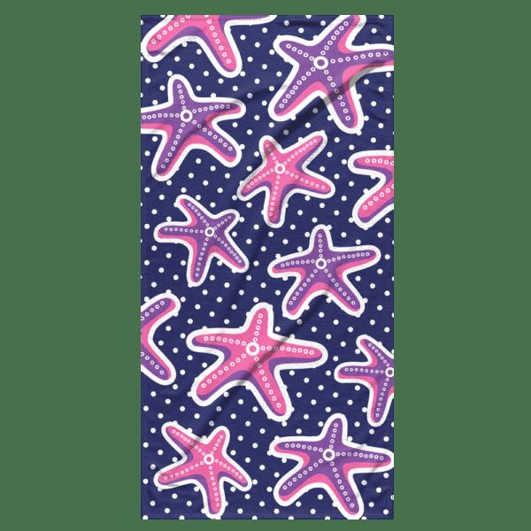 Strandlaken Starfish 75x150 cm