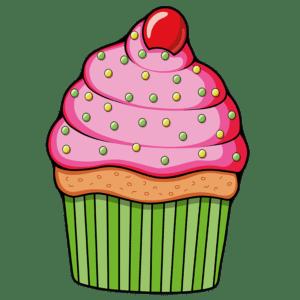 Strandlaken Cupcake