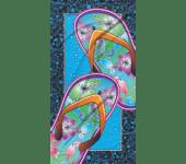 Strandlaken Flip Flop