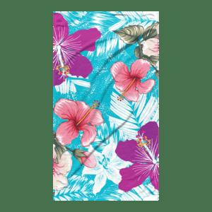 Strandlaken Hibiscus Blue