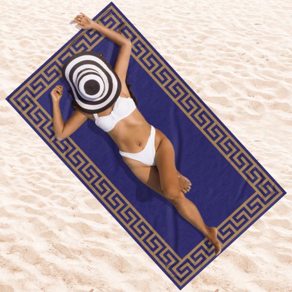 Strandlaken Blue Beach