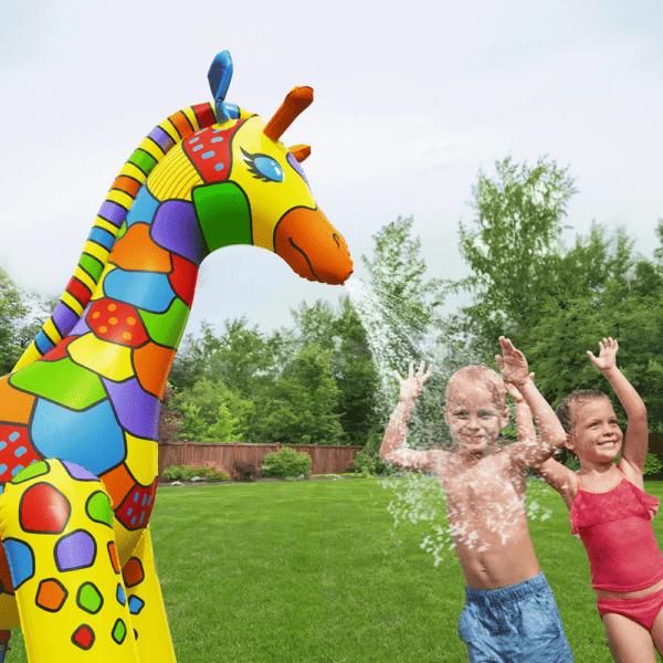 giraffe jumbo met sproeier