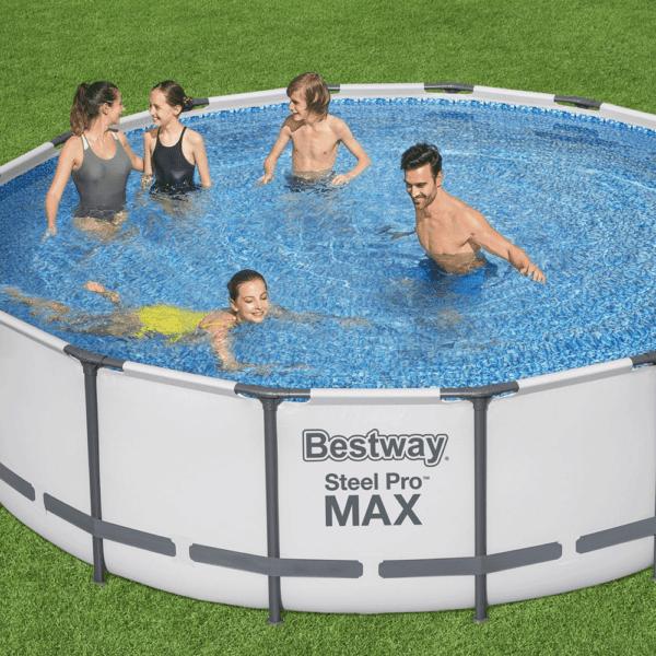 Steel Pro Max zwembad 488x122 cm