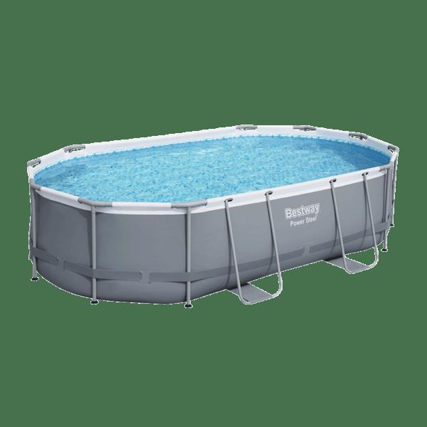 Power Steel zwembad 488x305x107 cm