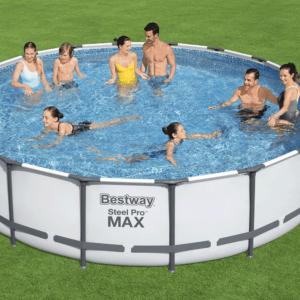 Steel Pro Max zwembad 549x122 cm