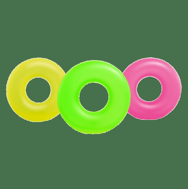 Zwemband neon frost tube 91 cm